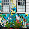 Colorful Caribbean Mural, St. John's, Antigua