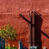 Architectural Detail, The Railyard, Santa Fe, New Mexico