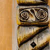 Carved Wooden Architectural Detail, Taos, New Mexico