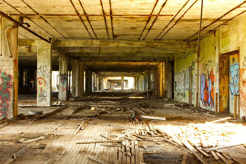 hallways of decay
