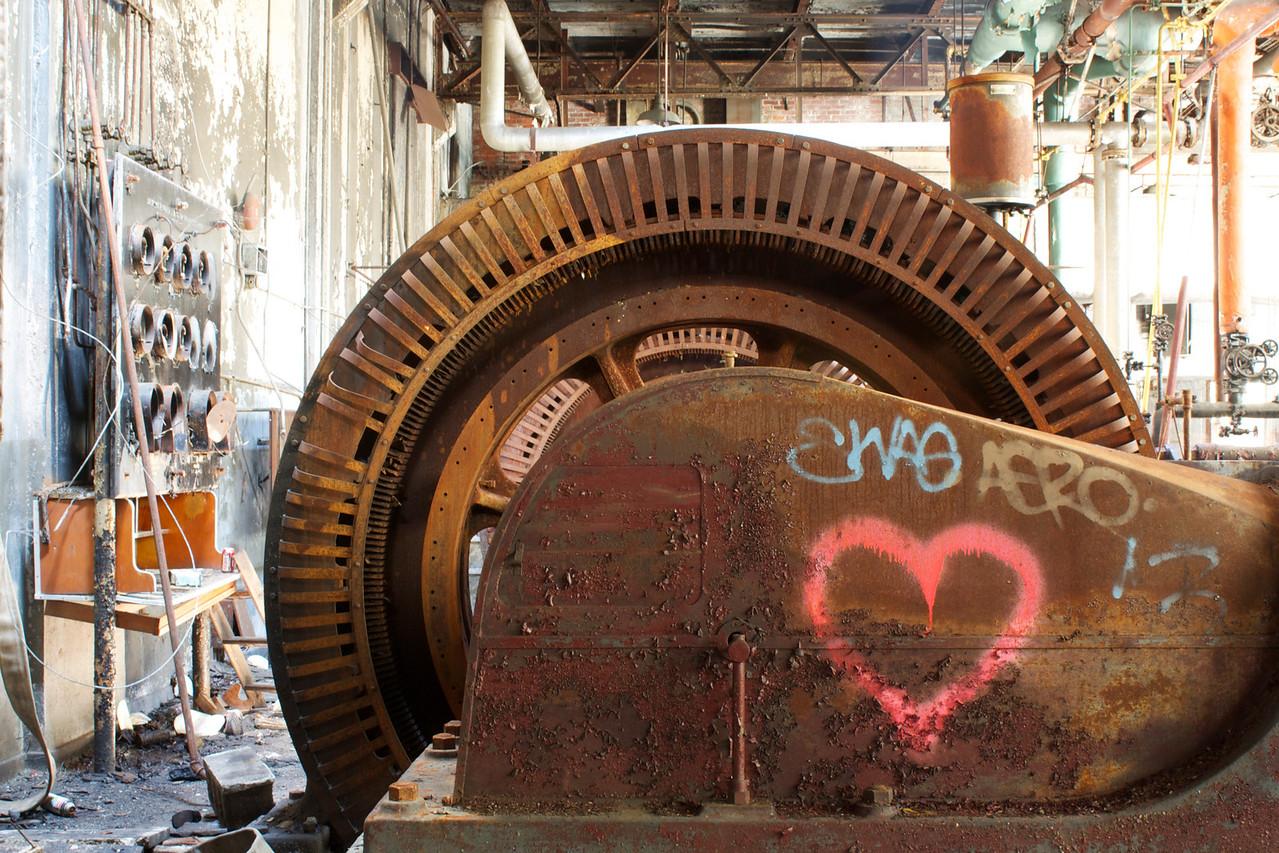 Big-hearted wheel.