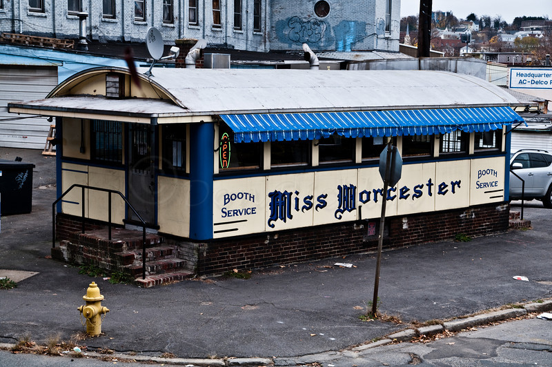 Miss Worcester from the tracks. by