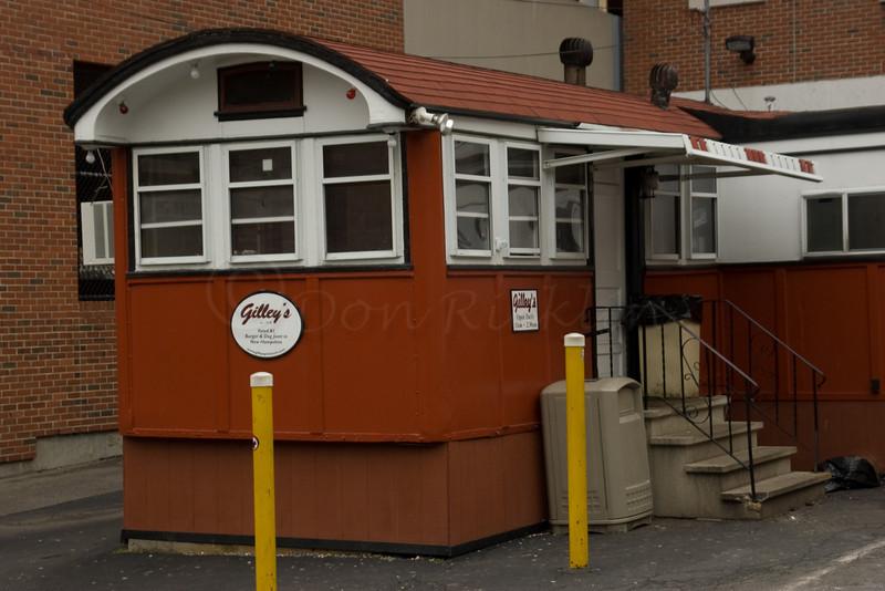 Older Wooden Diner Car Diner-Portsmouth, MA