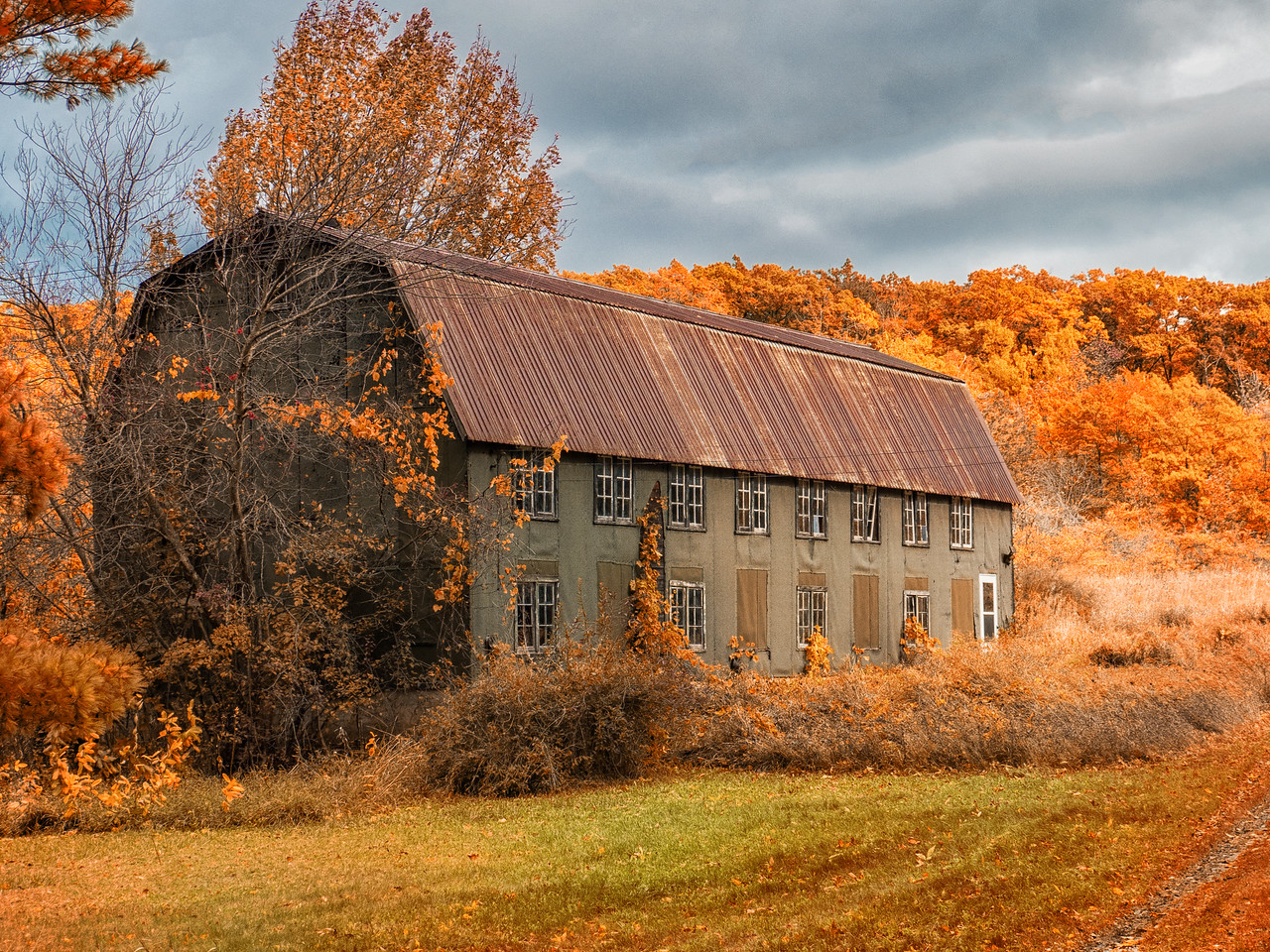 Barn With Windows