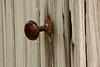 Outhouse Doorknob, Little Cedar Grove Baptist Church, Franklin County, Indiana