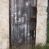 Weathered Door County barn door