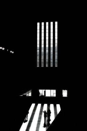 Entry Hall of Tate Modern Museum - London, UK