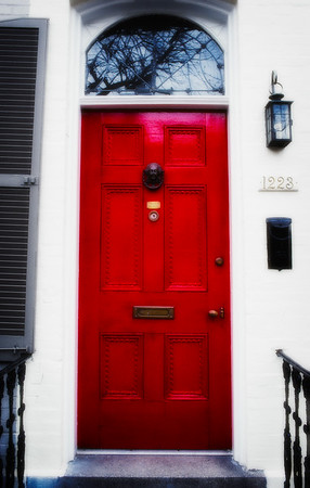 Red Door - Georgetown, Wash DC, USA