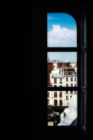 Paris Scenic through a Half Open Window #2 - Paris, France