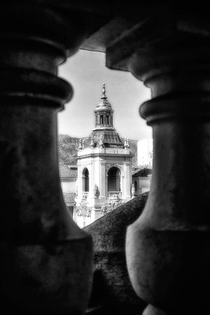 City Hall Through the Gaps - Pasadena, CA, USA