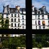Paris Scenic through Distorted Window #1, Paris, France