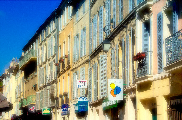 Street Scene #6 - Aix en Provence, France