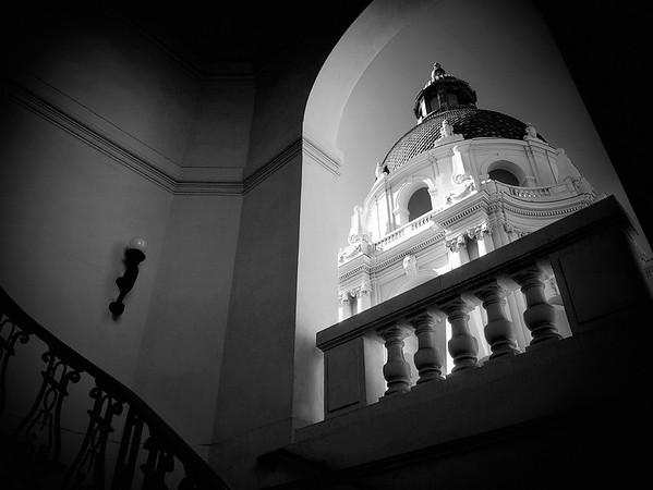 City Hall Staircase View #1a - Pasadena, CA, USA