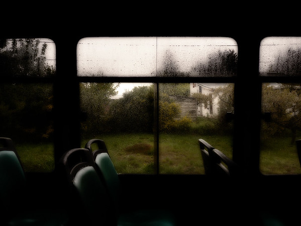 Through a Bus Window on a Rainy Day - Bariloche, Argentina