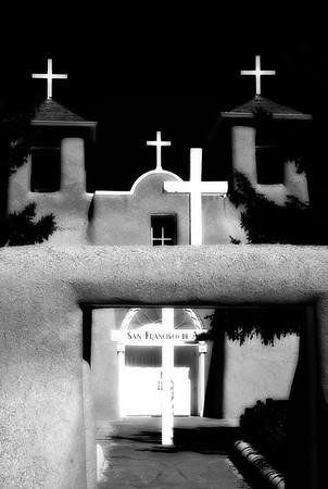 San Francisco de Asis Church #1, Ranchos de Taos, New Mexico, USA