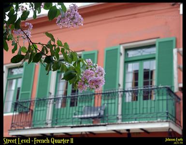 Street Level - French Quarter 11  Photos taken around the French Quarter of New Orleans.  New Orleans, 13 July 2011