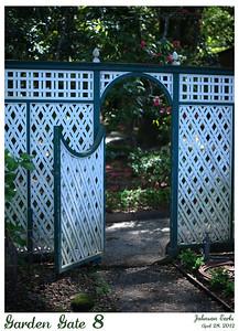 Garden Gate 8  Filoli, 28 April 2012