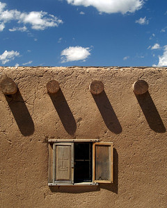 Window in Santa Fe, New Mexico.