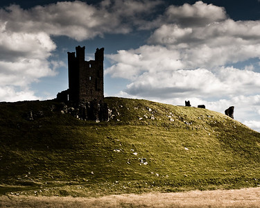 Lilburn Tower, Dunstanburgh, Northumberland UK.