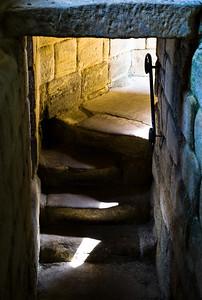 Warkworth, Northumberland, the donjon.