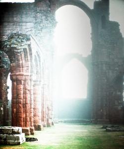 Lindisfarne Priory.