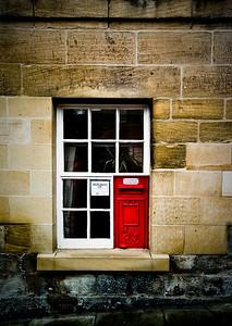 Warkworth, the old village Post Office.