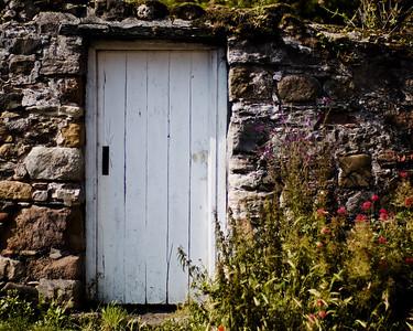 Lindisfarne, the village.