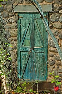 """Pump House Door"", Sedona, Az."