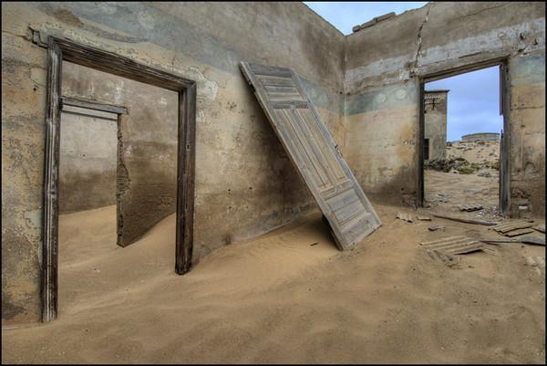 Kolmanskop, Namibia, Architecture, Ghost Town, Sand, D2x