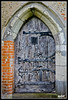 Buttsbury Church Door