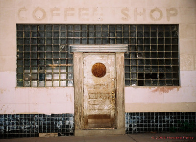 """Coffee Shop"", Silver City, New Mexico."