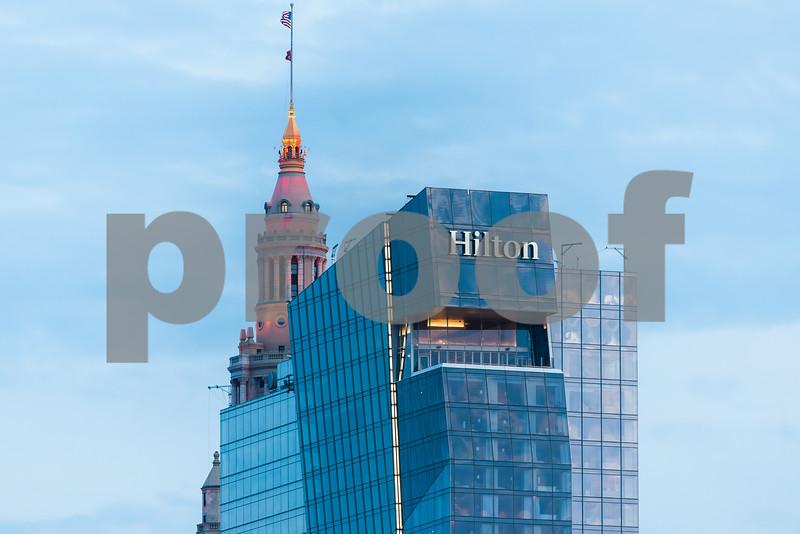 Downtown Cleveland  Hilton