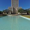 Houston City Hall and reflection pool