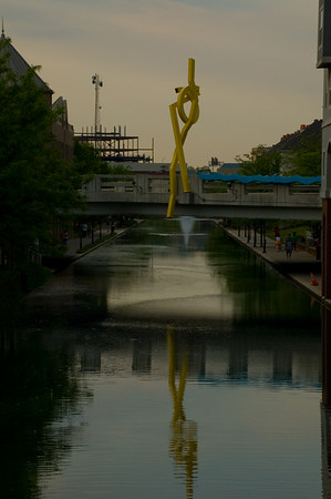 Downtown Indianapolis Canal - May 2007