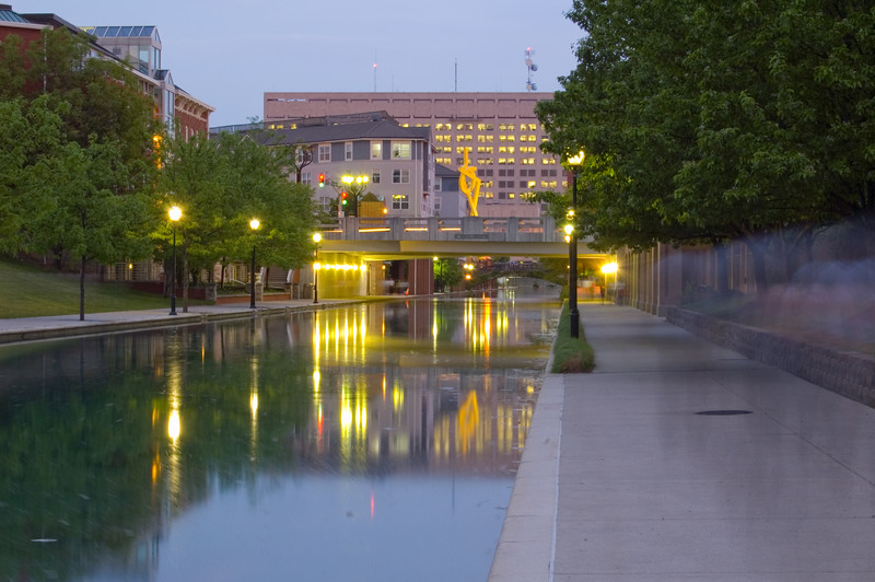 Indianapolis Downtown Canal