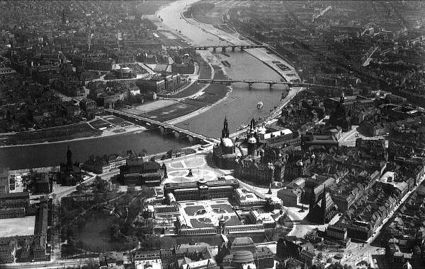 aeriel view dresden 1932