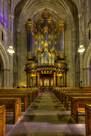 Benjamin N. Duke Memorial Organ (Flentrop 1976)<br /> <br /> Built by Dirk A. Flentrop of Holland, the Benjamin N. Duke Memorial Organ was completed in 1976, and is located in the great arch separating the narthex and the nave. Both tonally and visually, the Flentrop organ reflects the techniques of Dutch and French organ building in the 18th century.