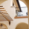 Private second story balconies allow viewing of the Front range off the master suite.