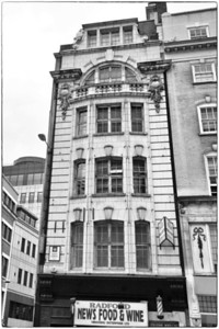 Lyons Corner House 1921-22