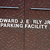 Sign on the Early Garage is missing the letter 'A' and some other letters are loose.  (SUN/Julia Malakie)