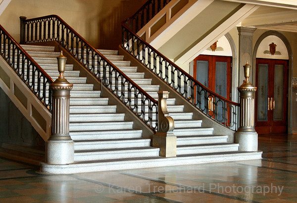 East High School First Floor Staircase
