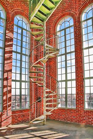 East High Inside Clocktower Denver