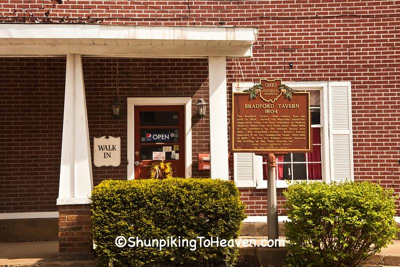 Bradford Tavern, West Union, Ohio