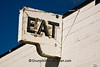 Eat Sign at Fair Oaks Diner, Madison, Wisconsin