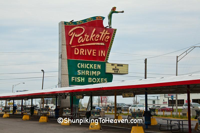 Parkette Drive-In, Lexington, Kentucky