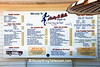 Menu at Ardy & Ed's Drive-In, Oshkosh, Wisconsin