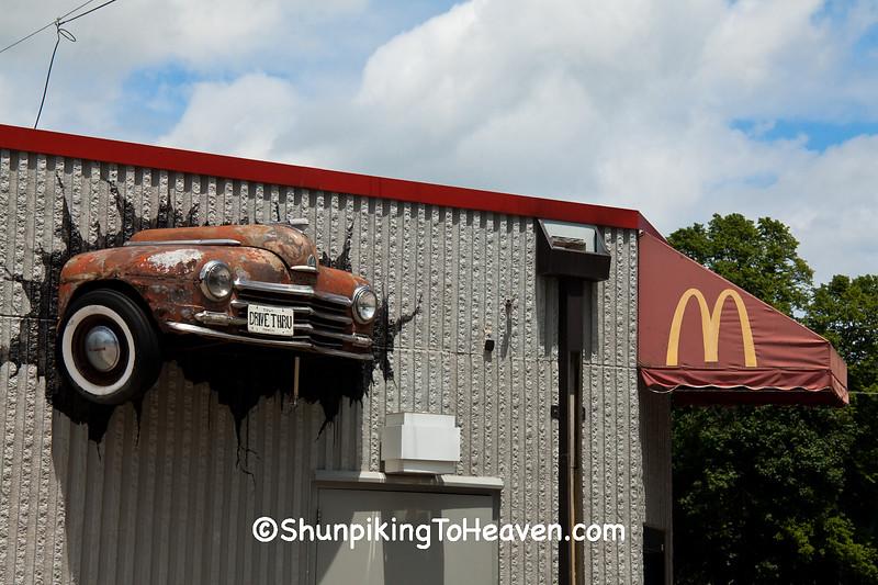 McDonald's Drive-thru Humor, Hampton, Iowa