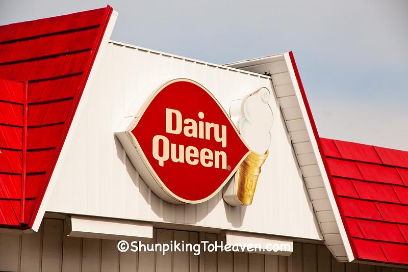Dairy Queen Sign, Elwood, Indiana