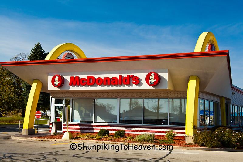 Old Fashioned McDonald's Restaurant, Milwaukee, Wisconsin