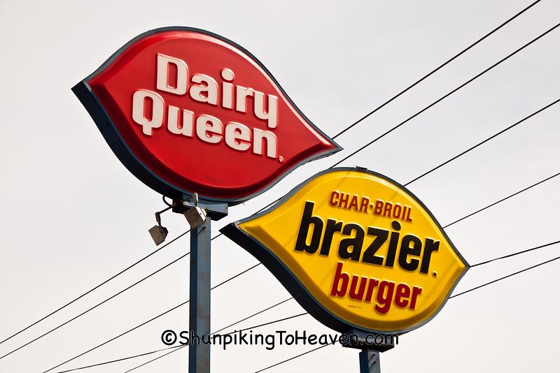 Dairy Queen Signs, Elwood, Indiana